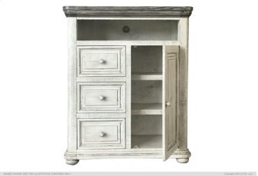 3 Drawer, 1 Door Great Chest for TV