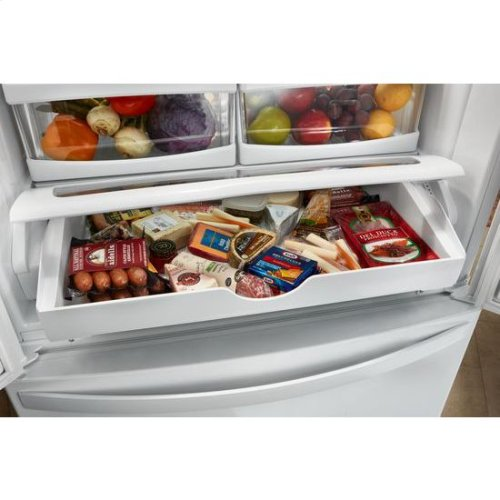 Whirlpool® 36-inch Wide French Door Refrigerator with Crisper Drawer - 25 cu. ft. - Fingerprint Resistant Stainless Steel