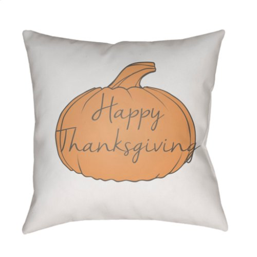 "Happy Thanksgiving HPY-004 20"" x 20"""
