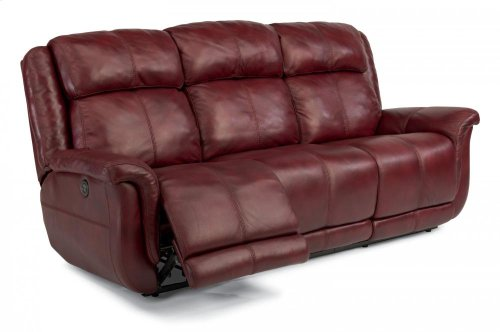 Brookings Leather Power Reclining Sofa