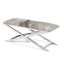 Mirren Bench - Light Grey