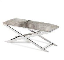 Mirren Bench - Light Grey