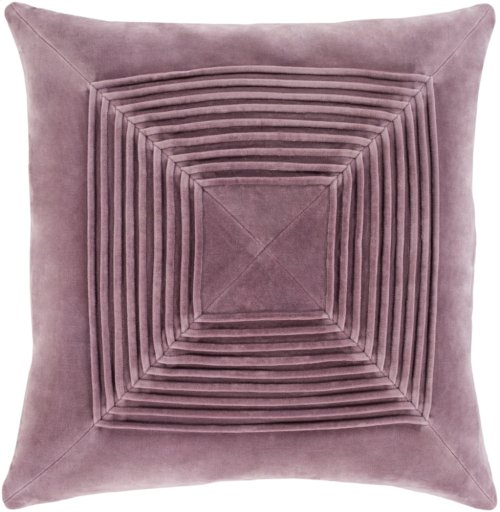 "Akira AKA-002 22"" x 22"" Pillow Shell with Down Insert"