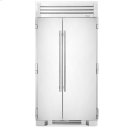 42 Inch Stainless Doors Full Size Refrigerator - - Stainless Solid Product Image