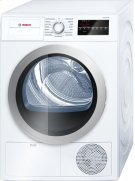 500 Series Cond. Dryer - 208/240V, Cap. 4.0 cu.ft., 15 Cyc.,65 dBA, SS Drum, Silv. Rev./Door; ENERGY STAR Product Image
