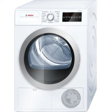 500 Series Cond. Dryer - 208/240V, Cap. 4.0 cu.ft., 15 Cyc.,65 dBA, SS Drum, Silv. Rev./Door; ENERGY STAR