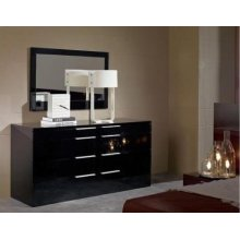 Modrest Aron Night Modern Black Dresser