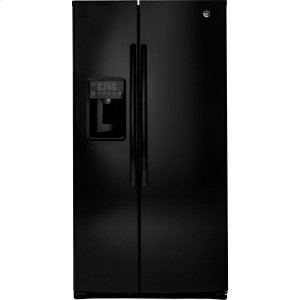 ®ENERGY STAR® 25.3 Cu. Ft. Side-By-Side Refrigerator - BLACK