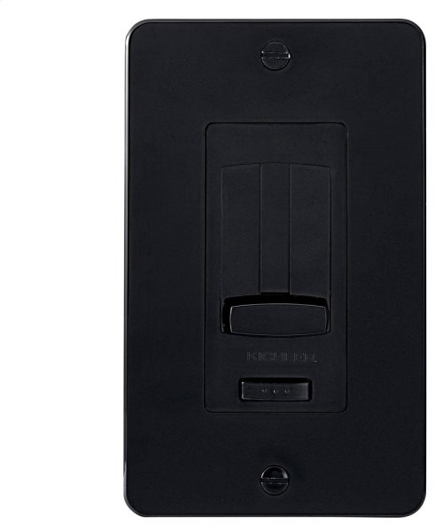 Face Plate and Trim Accessory for the 4DD or 6DD LED Driver + Dimmer Black