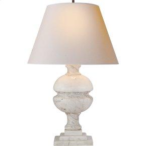 Visual Comfort AH3100WM-NP Alexa Hampton Desmond 26 inch 150 watt White Marble Decorative Table Lamp Portable Light