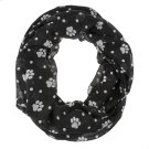 Paw Print Infinity Scarf. Product Image