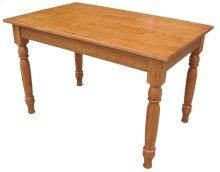 Leg Table, No Drawer