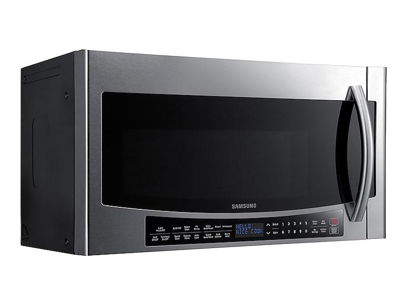 Samsung Liances 1 7 Cu Ft Over The Range Convection Microwave