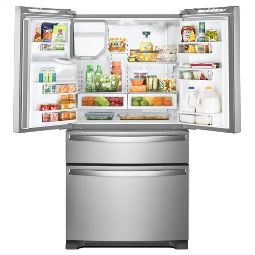 36-Inch Wide French Door Refrigerator - 25 cu  ft