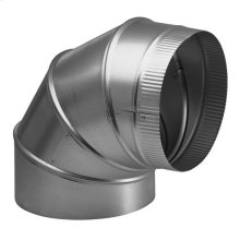 "8"" Round Elbow Duct for Range Hoods and Bath Ventilation Fans"