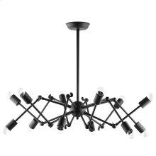 Tagmata Steel Ceiling Fixture in Black