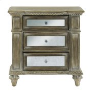 Mirrored Accent Nightstand Product Image
