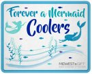 Mermaid Beverage Cooler Sign. Product Image