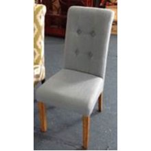 Townsend Tufted Blue Parson Chair
