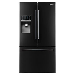 """Samsung Appliances36"""" Wide, 31 Cu. Ft. French Door Refrigerator, With Dual Ice Maker (Black)"""