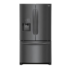 Gallery 26.8 Cu. Ft. French Door Refrigerator - BLACK STAINLESS STEEL