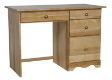 Dover 4 Drawer Desk -Drawers On Right