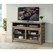 Perspectives - 54-inch TV Console - Sun-drenched Acacia Finish