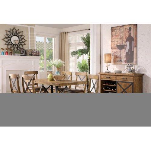 Emerald Home Chandler Dining Chair Dark Walnut Finish D100-20