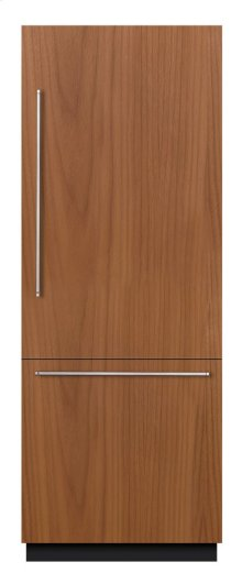 "Benchmark Series, 30""x84"" Bottom Freezer, Built-in, Custom panel"