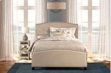 Kerstein Bed Set - Full - Rails Included - Lt Taupe