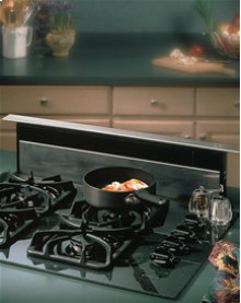 """36"""" Stainless Steel 500 CFM Downdraft with Stainless Steel cover"""