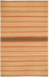 Dokka Stripe Saffron Kettle Flat Woven Rugs