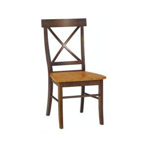 JOHN THOMAS FURNITUREX-Back Chair in Cinnamon & Espresso