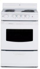 """24"""" Free Standing Electric Standard Clean Range Product Image"""