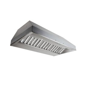 """42"""" Stainless Steel Built-In Range Hood with iQ6 Blower System, 600 CFM"""