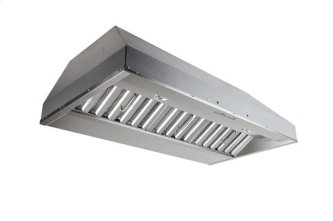 "42"" Stainless Steel Built-In Range Hood with iQ6 Blower System, 600 CFM"