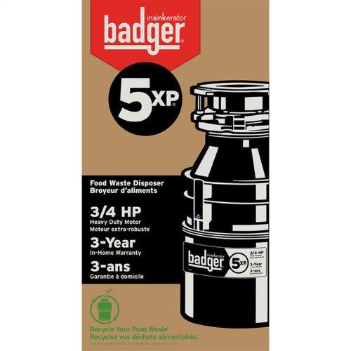 Badger 5XP Garbage Disposal - Without Cord