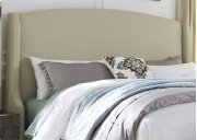 King Wing Shelter Headboard Product Image