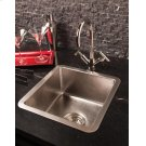Stainless Bar Sink Brushed Stainless Steel Product Image