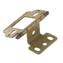 Non Self-closing, Partial Wrap 3/4 In (19 Mm) Door Thick. Hinge