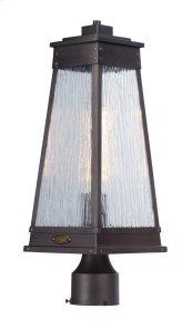 Schooner 1-Light Outdoor Post Lamp