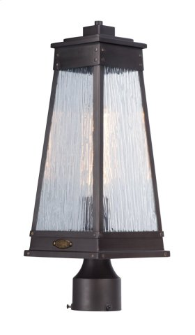 Schooner 1-Light Outdoor Post Lamp