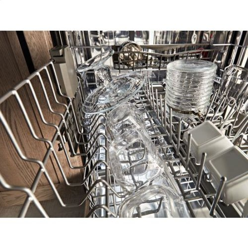 KitchenAid® 46 DBA Dishwasher with Third Level Rack, Bottle Wash and PrintShield™ Finish - PrintShield Stainless