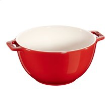 "Staub Ceramics 7"" Serving Bowl, Cherry"