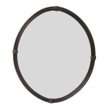 Queensbury Oval Iron Wall Mirror