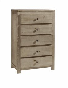 Drawer Chest - Natural Finish