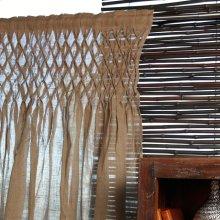 Jute Smocked Curtn Panel 42x84 100% Jute Curtains