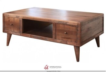 4 Drawer Cocktail Table Product Image