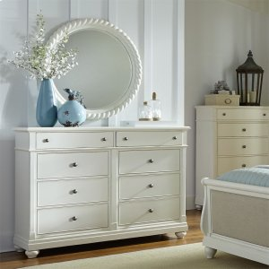 Liberty Furniture Industries Opt Dresser & Mirror