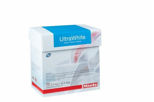 WA UW 2502 P UltraWhite powder detergent 2.5 kg for optimum results with white and colour-fast textiles.